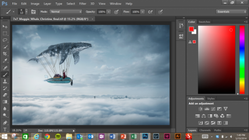 Photoshop CC optimisé pour la tablette Surface Pro 3 > Creanum