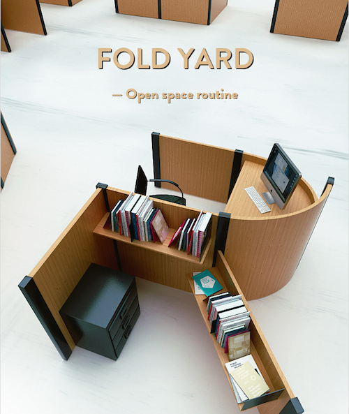Fold Year, du design d'open space en 3D > Creanum