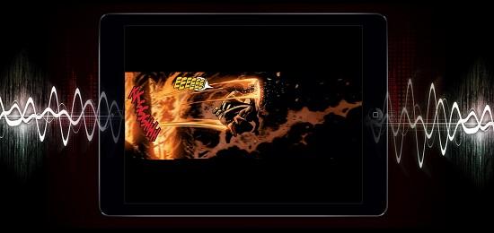Marvel inaugure les BD sonorisées > Creanum