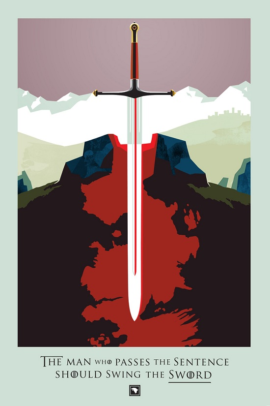 Beautiful Death : le compte à rebours graphique de Game Of Thrones > Creanum