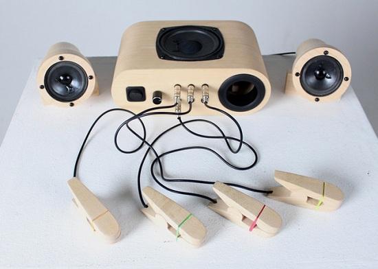 Sound Pegs: transformez n'importe quel objet en instrument de musique > Creanum