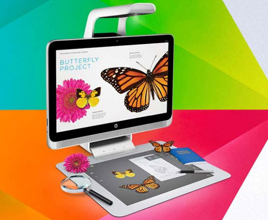 HP présente un PC avec scanner 3D et projecteur intégré > Creanum