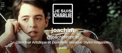 #jesuisCharlie : Joachim Roncin, directeur artistique et créateur de l'image > Creanum