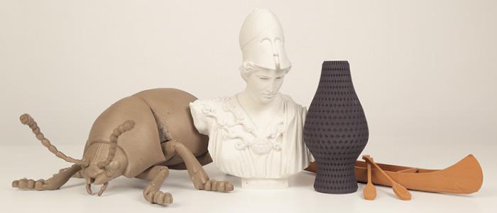 Impression 3D: MakerBot promet le bois, la pierre et le métal > Creanum