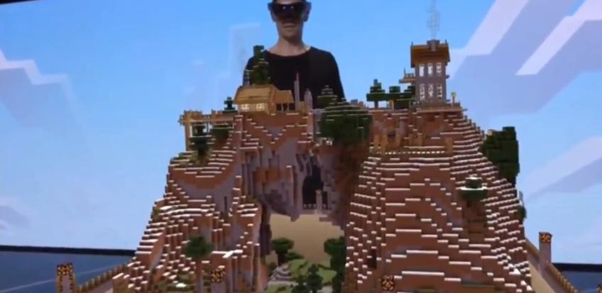 Hololens : la réalité virtuelle en cubes > Creanum