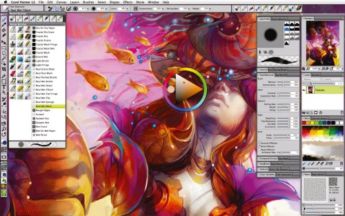 Corel Painter 12,  La révolution?  > Creanum