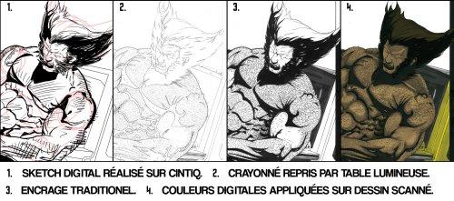 Percée des outils numériques chez les dessinateurs de Comic Books > Creanum
