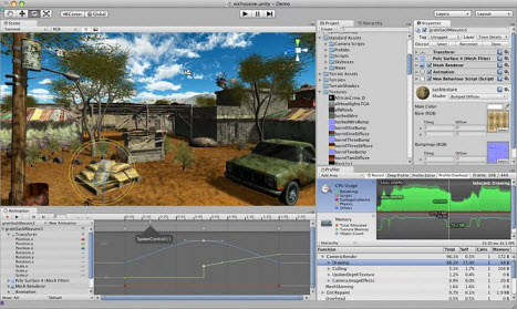Unity, outil de développement de jeux 3D, devient gratuit !  > Creanum