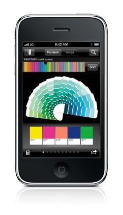 myPANTONE : X-Rite sort un nuancier sur iPhone ! > Creanum