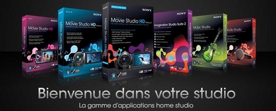 Sony Creative Software : nouvelles versions et ristournes