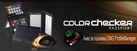 X-Rite lance le gestionnaire de profils DNG pour son ColorChecker Passport > Creanum