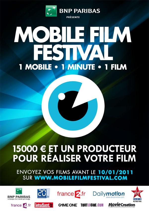 Ouverture du Mobile Film Festival 2011