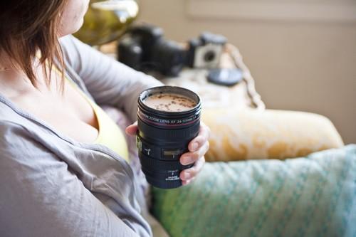 The Camera Lens Mug