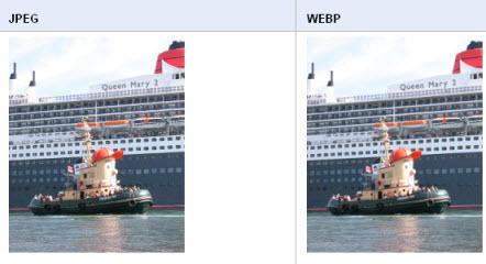 WebP : Google propose un nouveau format d'image pour le web > Creanum