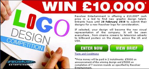 Revolver Entertainment offre 10 000 £ pour son logo