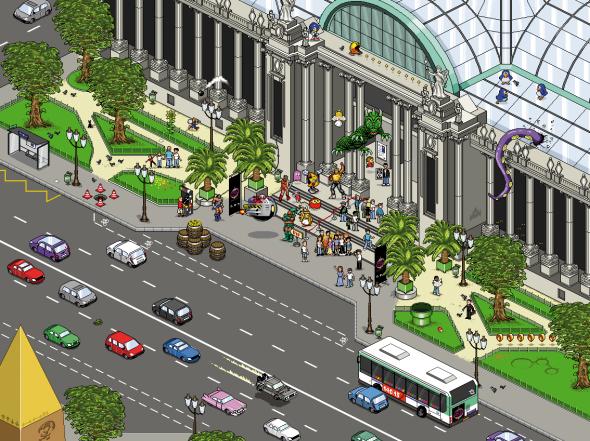 Pixel Art : l'affiche de « Game Story », par Olivier Huard > Creanum