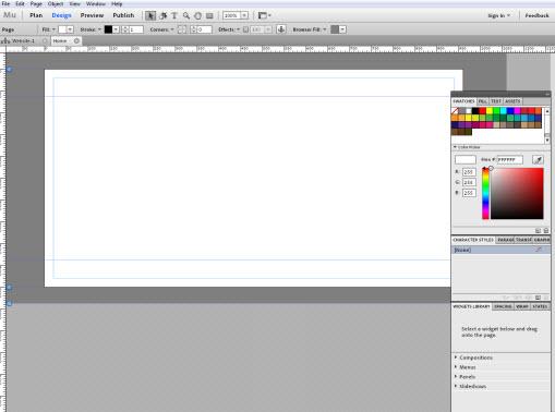 Adobe MUSE : création de sites en WYSIWYG > Creanum