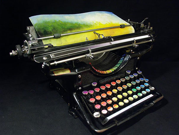 La machine à écrire chromatique > Creanum