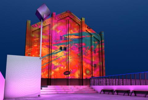 « Ice Painting Dreams » s'installe à Yokohama > Creanum