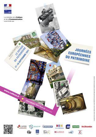 L'affiche des Journées Européennes du Patrimoine expliquée par les graphistes > Creanum
