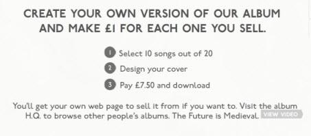Kaiser Chiefs : créez et vendez votre propre album ! > Creanum