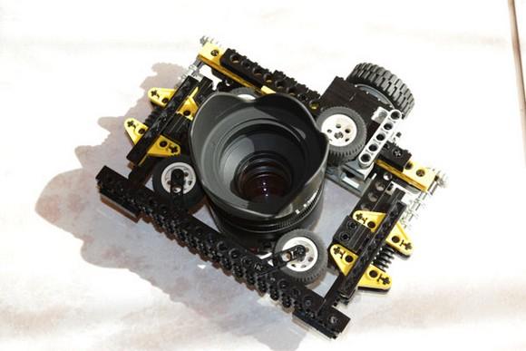 Lego au service de l'appareil photo