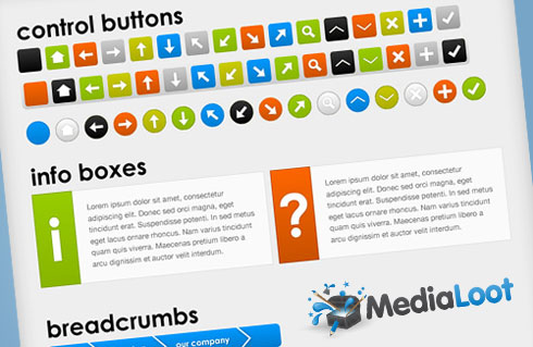 12 kits UI gratuits pour les webdesigners ! > Creanum