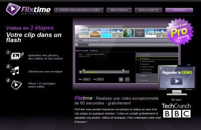 Flixtime : créer des vidéos en ligne en un clin d'oeil > Creanum