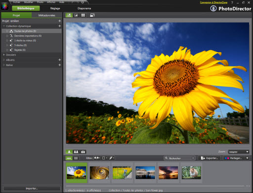 PhotoDirector 2011 gratuit jusqu'au 20 juin ! > Creanum