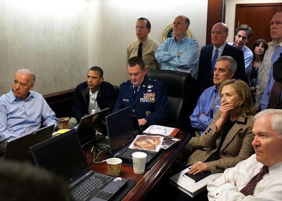 Détournement de la Situation Room de la Maison Blanche