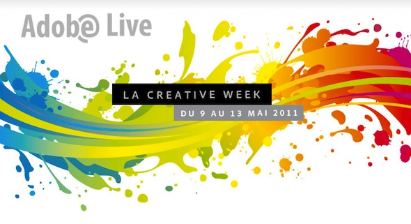 La Creative Week d'Adobe France jusqu'au 13 mai