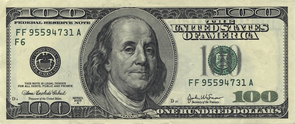 Make Your Franklin vous propose de revisiter le billet de 100 dollars