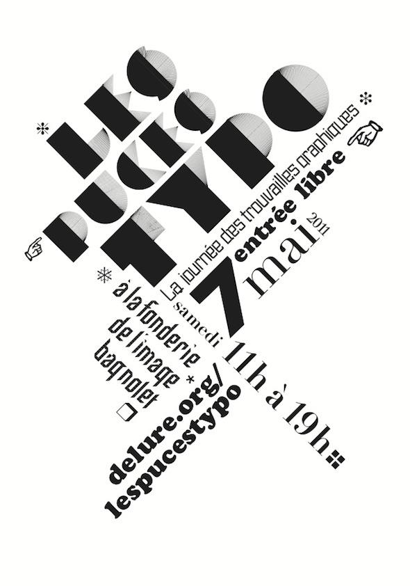 Les puces du graphisme et de la typographie