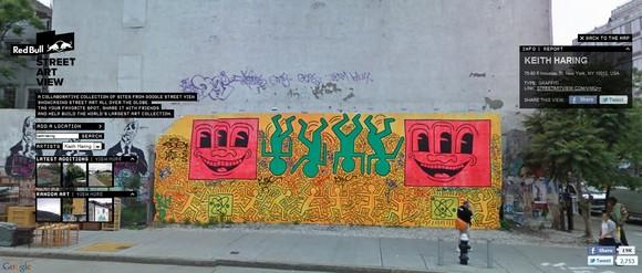 Google, l'art et la rue