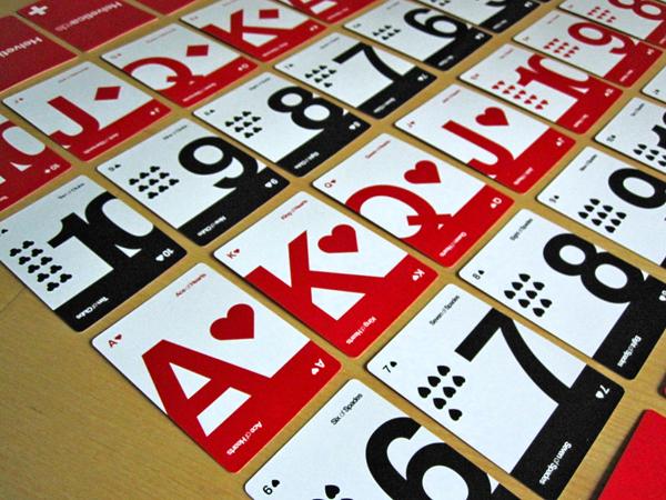 Helveticards : approche minimaliste pour un jeu de cartes > Creanum