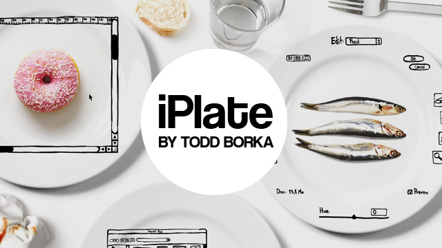 iPlate : les assiettes pour geek !  > Creanum