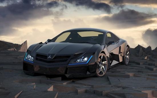 Mercedes : un concept-car ultra-design > Creanum