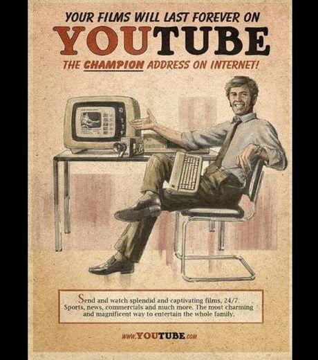 Publicités vintage pour les réseaux sociaux !  > Creanum