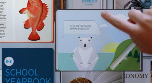 Vidéo : Microsoft imagine le futur > Creanum