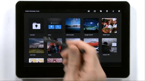 Adobe présente ses Touch Apps en vidéo > Creanum