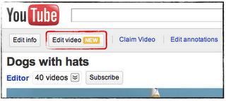Édition vidéo, 3D et limite des 15 minutes repoussée: du nouveau chez Youtube > Creanum