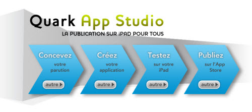 QuarkXPress 9.1, publication facile sur iPad avec App Studio > Creanum