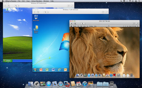 Windows sur Mac : VMware lance Fusion 4 > Creanum