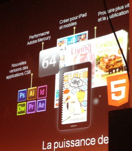 Adobe CS6 sur les rails le 7 mai > Creanum