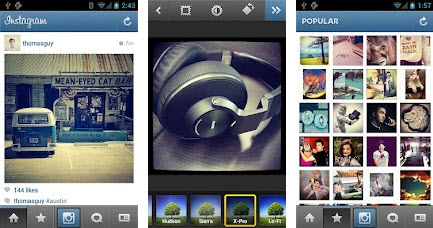 Instagram disponible sur Android ! > Creanum