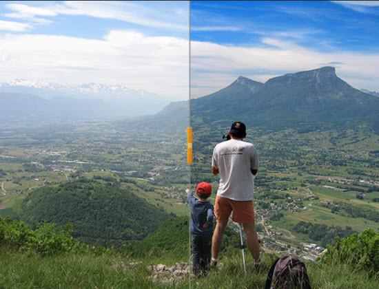 Neutralhazer : un filtre anti voile blanc pour Photoshop > Creanum