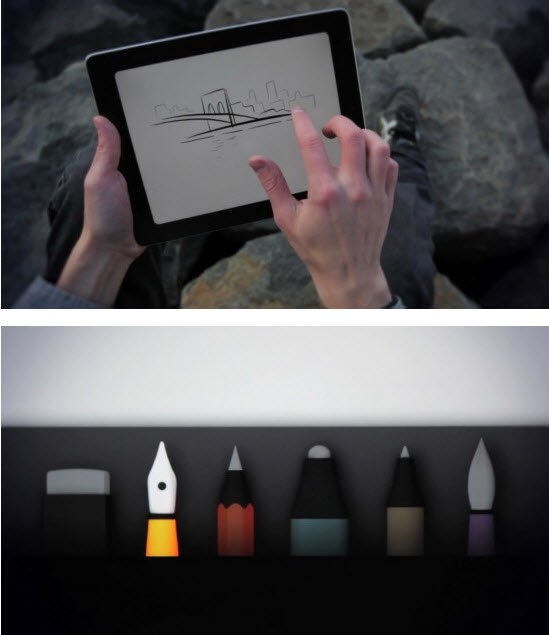 Paper : la super application de dessin sur iPad > Creanum