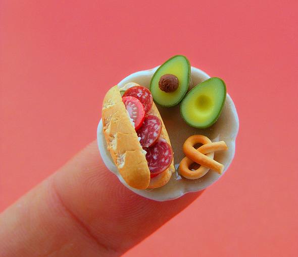 Shay Aaron : nourriture miniature > Creanum