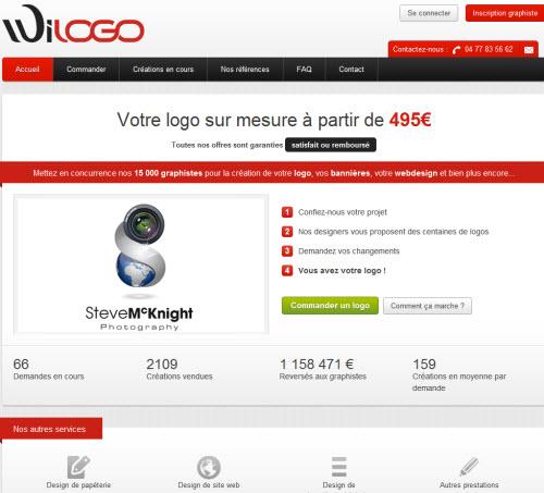 Fotolia rachète la place de marché de créations de logos Wilogo > Creanum