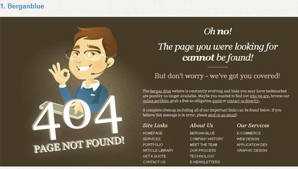 Quelques exemples design de « 404 error pages » > Creanum